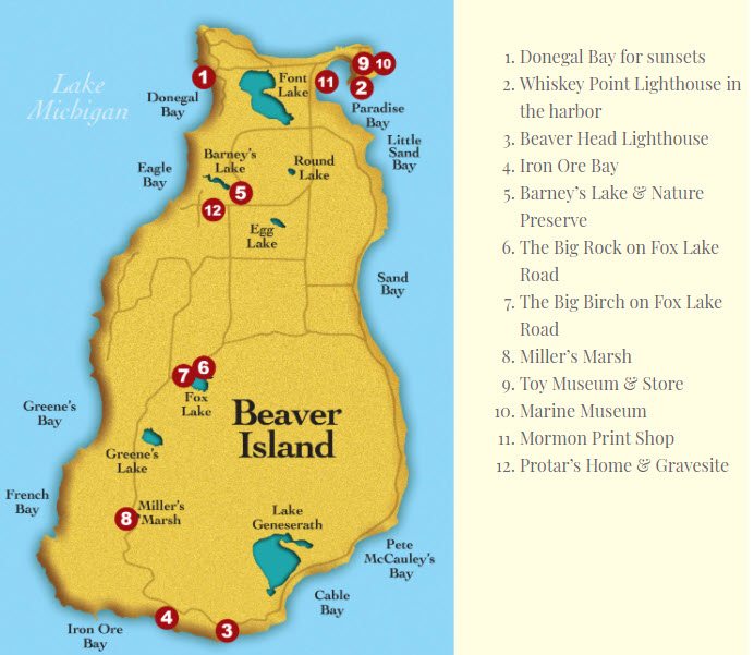 Beaver Island Sites To See